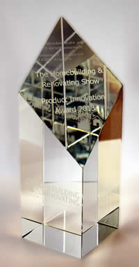 Read about the Rain Director award Homebuilding and Renovating Show