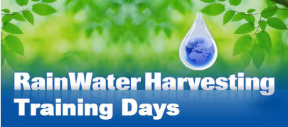 Rainwater Harvesting Training Days