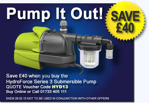 Get £40 off this pump with voucher HYD13
